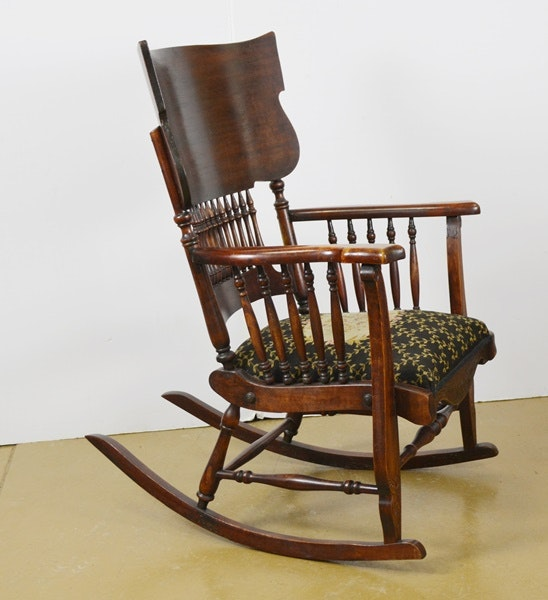 Vintage Wisconsin Chair Company Rocking Chair