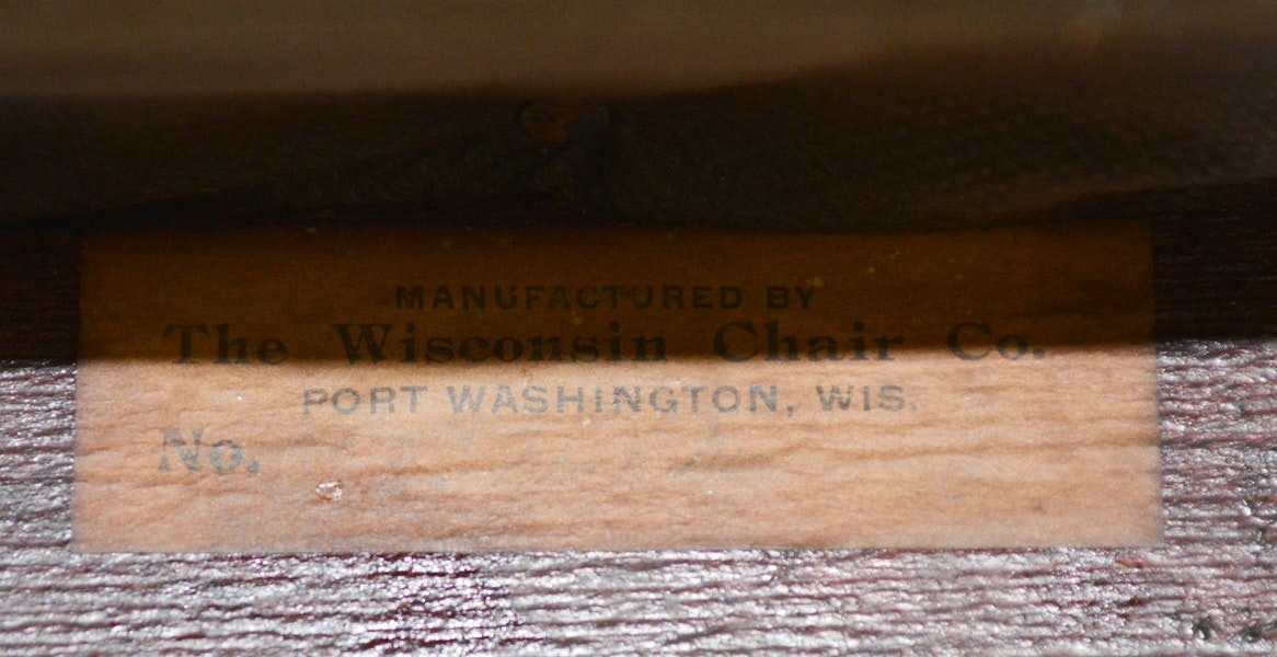 Vintage Wisconsin Chair Company Rocking Chair Ebth