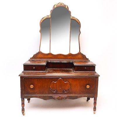 Vintage Vanity Dresser - Online Furniture Auctions Vintage Furniture Auction Antique
