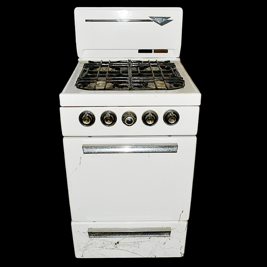 Apartment Sized Dixie Gas Stove : EBTH