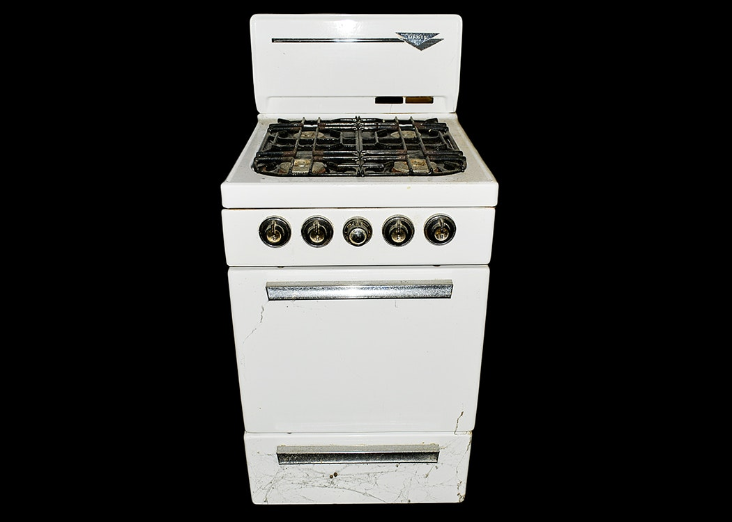 Attractive Apartment Sized Dixie Gas Stove ...