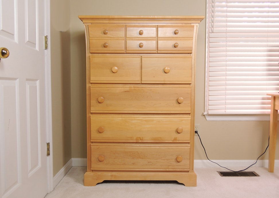 Simmons Little Folks Maple Chest Of Drawers ...