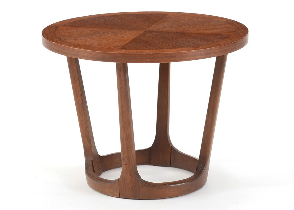 Lane Mid Century Round Side Table ...