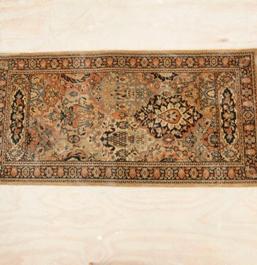 Vintage Mj Whittall Anglo Persian Wilton Oriental Rug Ebth
