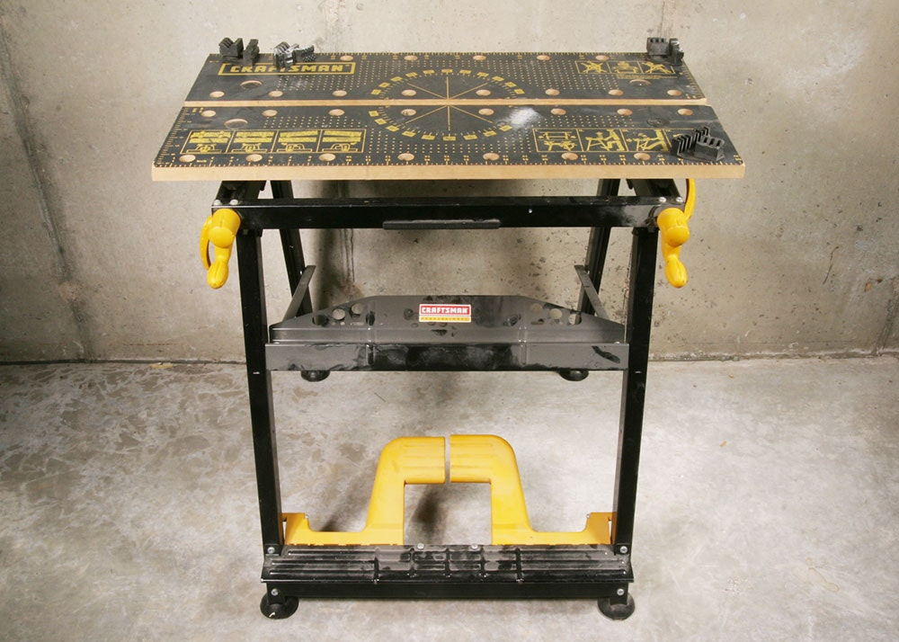Craftsman Professional Portable Work Table ...