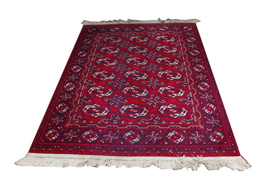 red and blue royal ashan rug ebth. Black Bedroom Furniture Sets. Home Design Ideas
