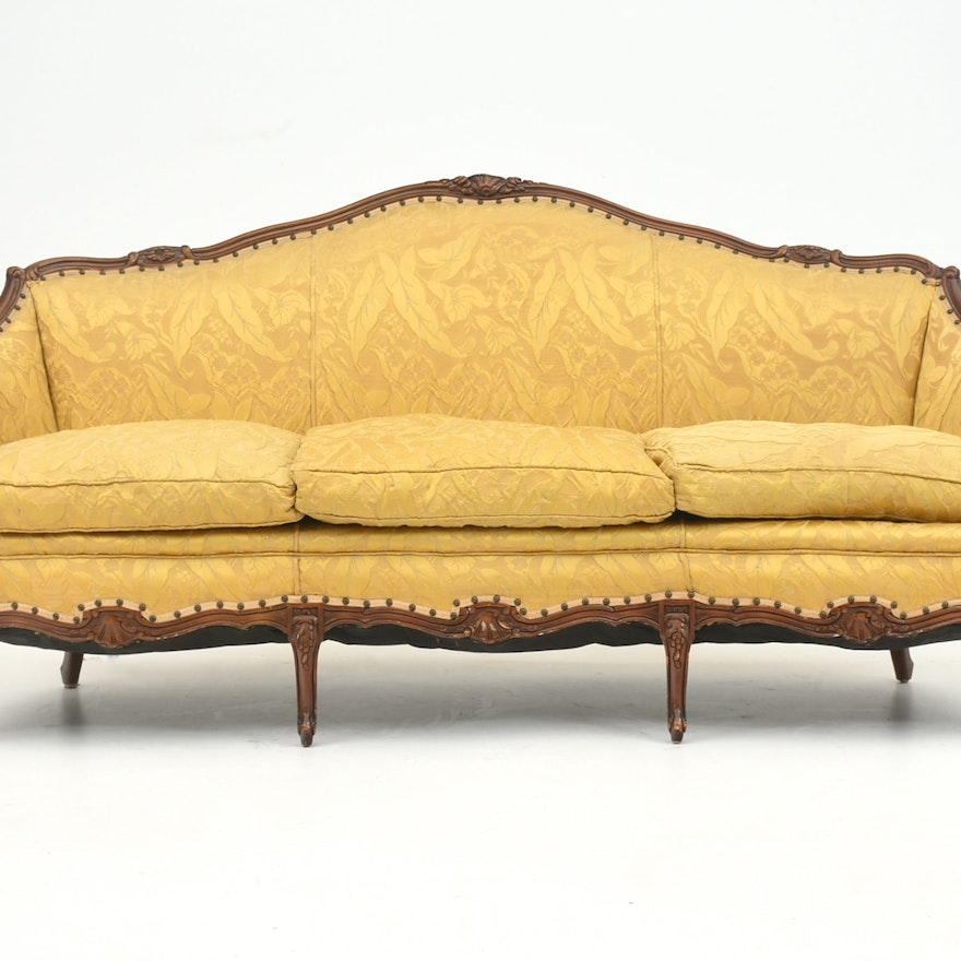 Louis xv style canape sofa ebth for Louis xv canape sofa