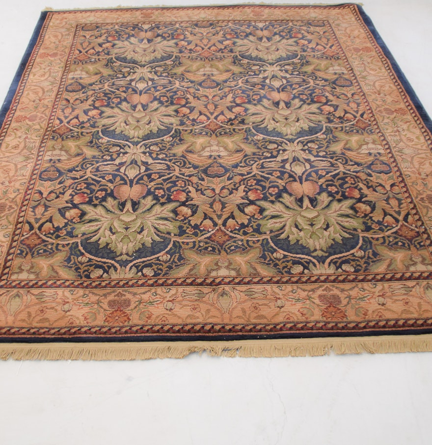 """Libson Sapphire"" Area Rug By Antique Treasures : EBTH"