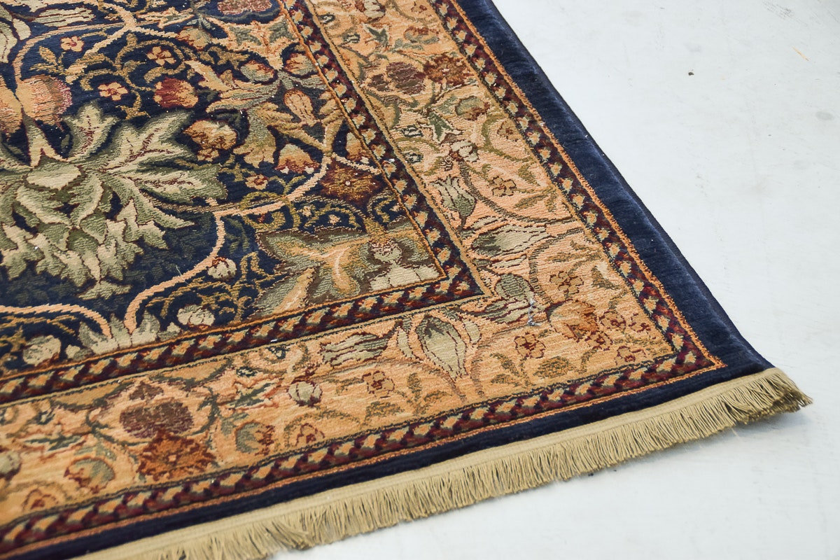 Quot Libson Sapphire Quot Area Rug By Antique Treasures Ebth