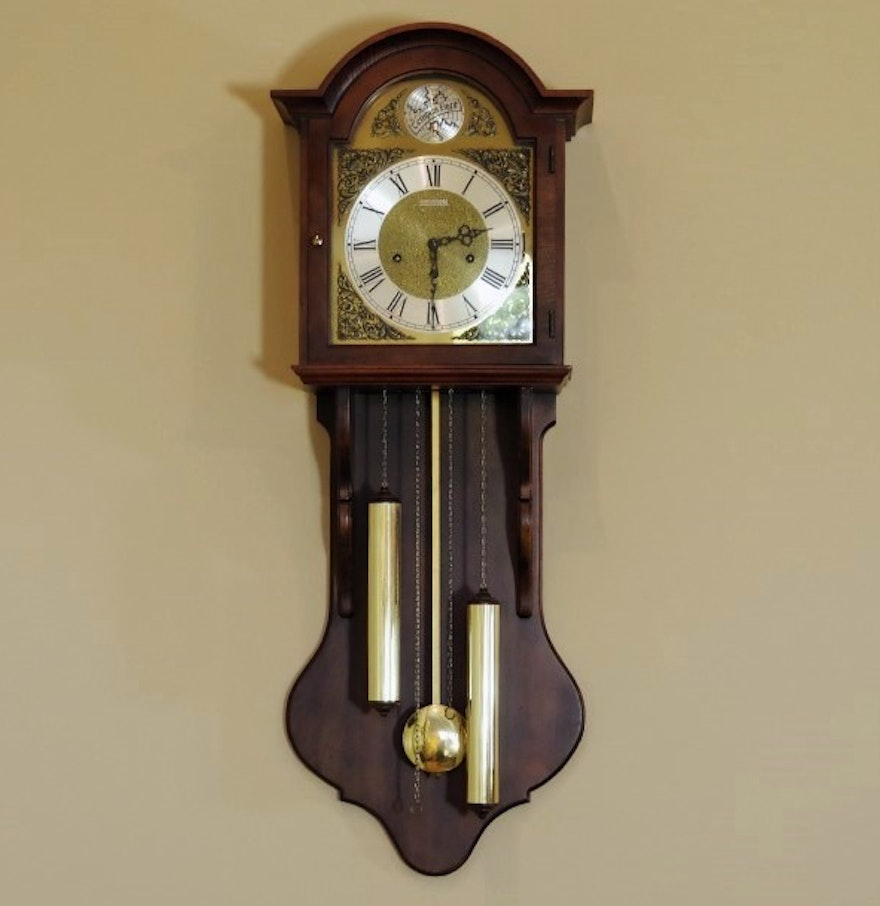 Barwick Pendulum Wall Clock Made In Germany Ebth