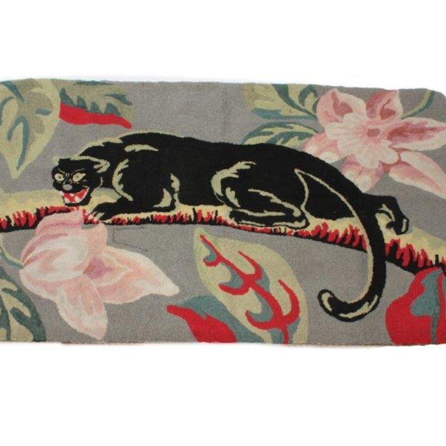 Black Panther Area Rug Ebth