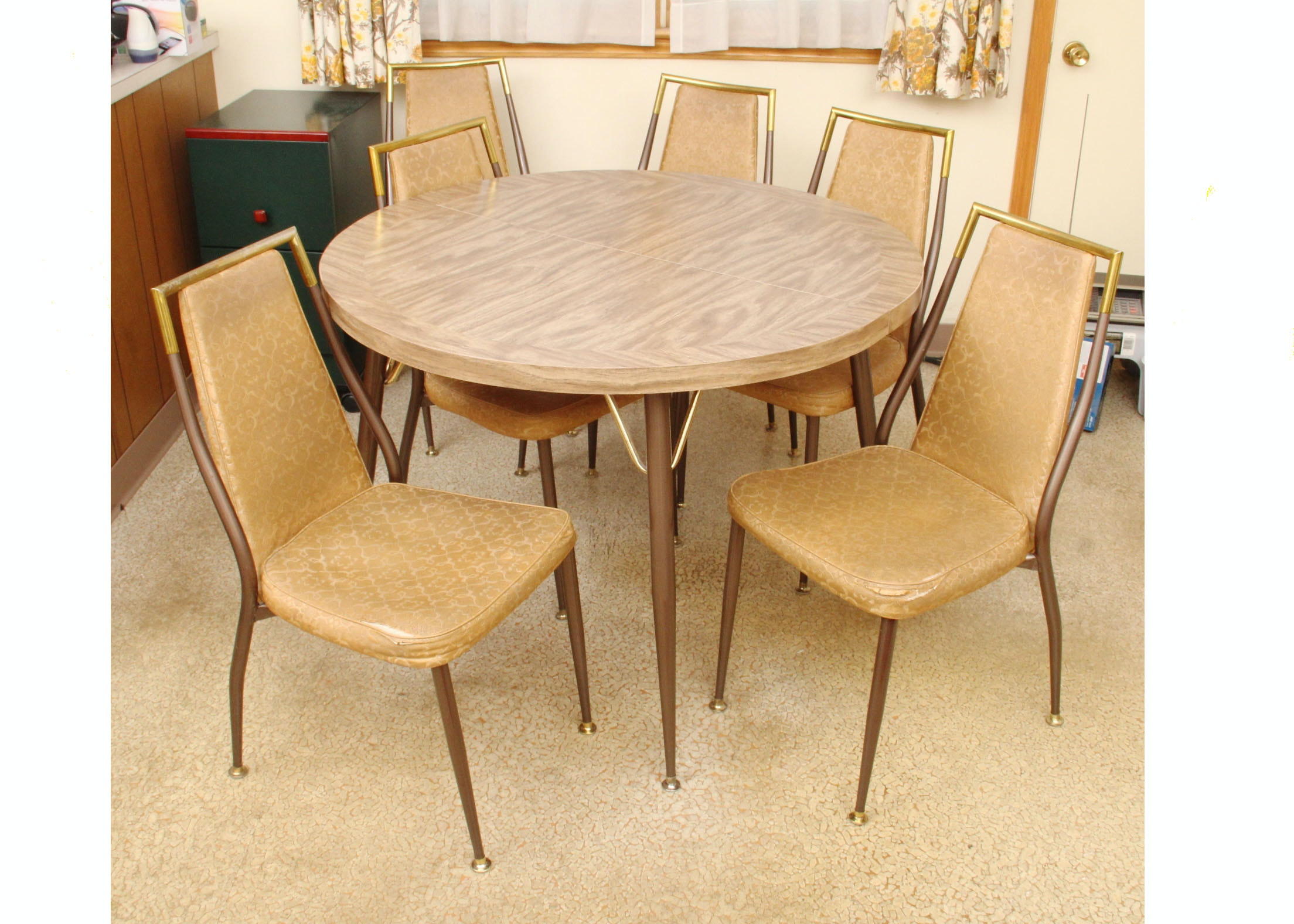 1960s Retro Kitchen Table And Chairs