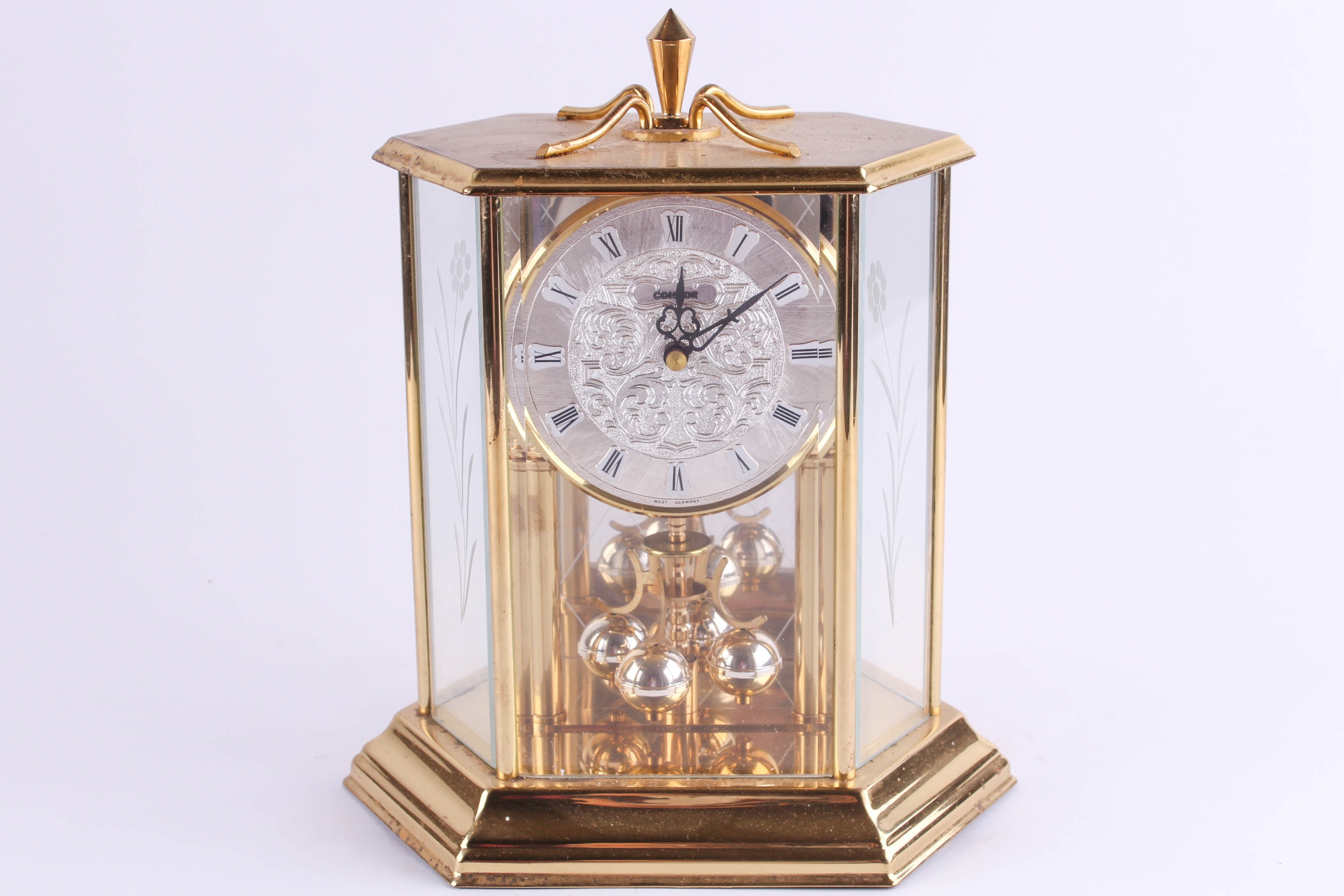 condor of germany anniversary clock