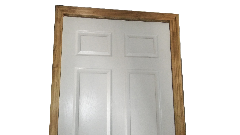 Six Panel White Particle Board Door ... & Six Panel White Particle Board Door : EBTH