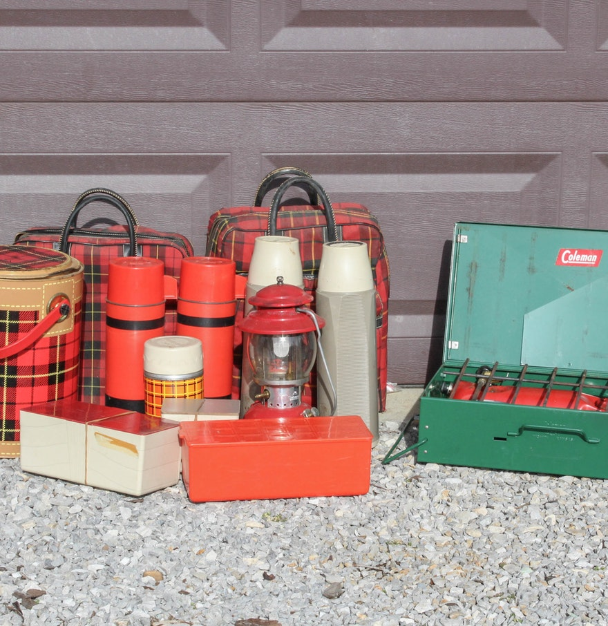 Vintage Camping Supplies : EBTH
