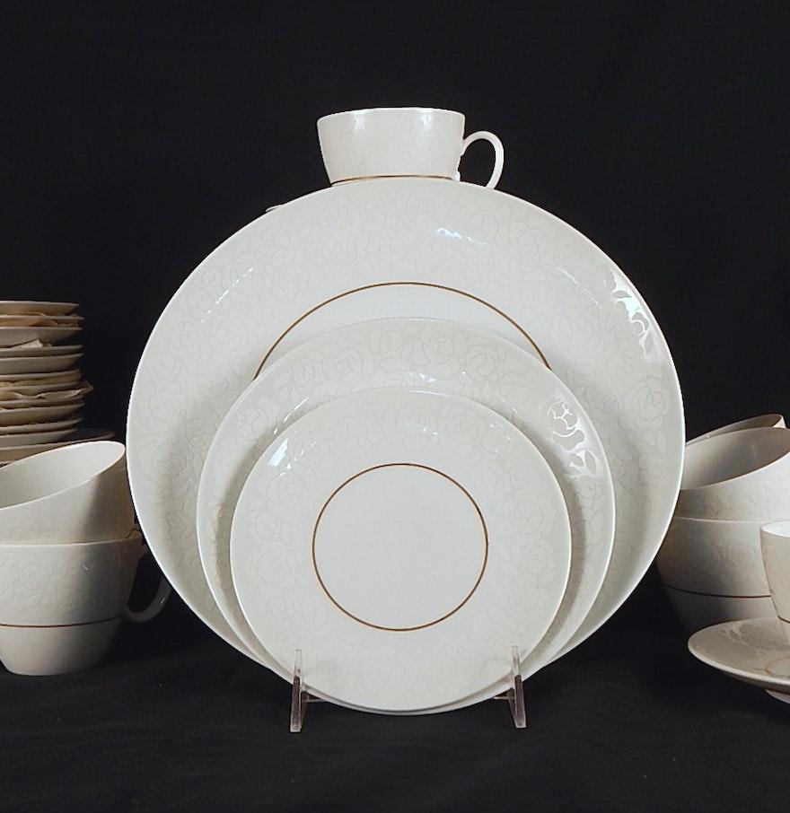vintage raymond loewy 'alencon' modern dishes  ebth - vintage raymond loewy 'alencon' modern dishes