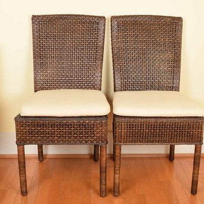 Vintage chairs antique chairs and retro chairs auction in traditional furnishings d cor more - Crate and barrel parsons chair ...