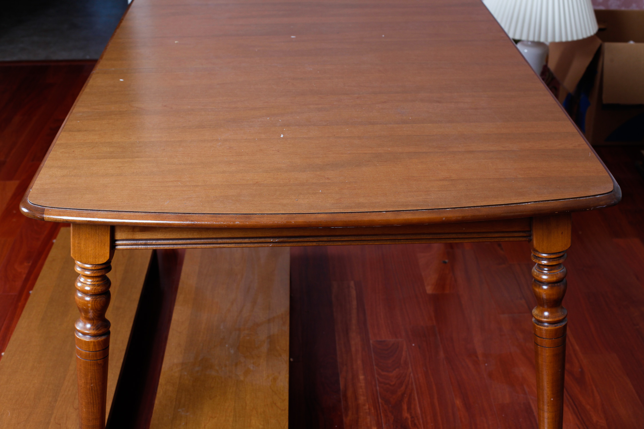 Tell City Chair Co. Walnut Dining Table : EBTH