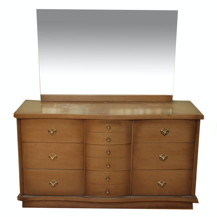Mid-Century Harmony House Dresser with Mirror : EBTH