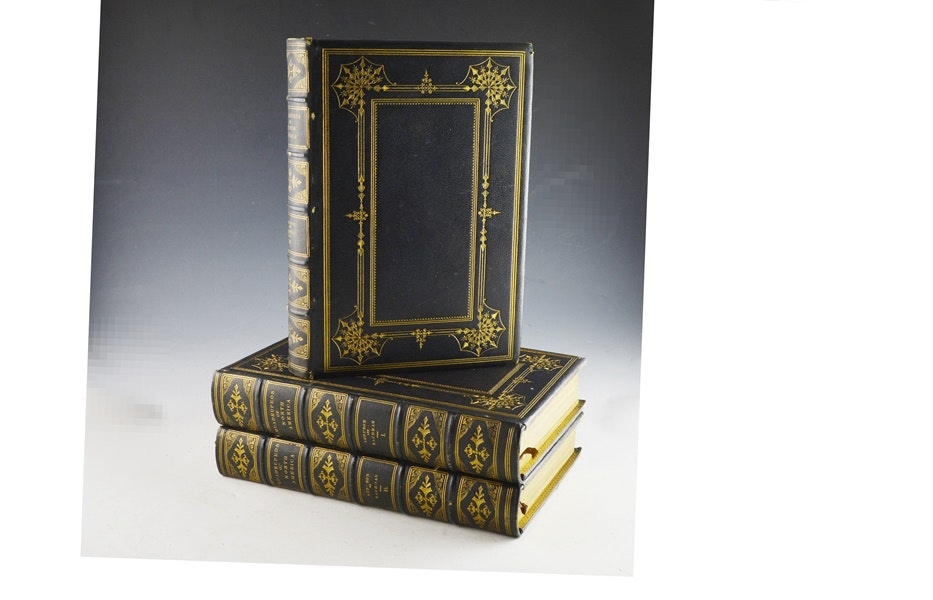 "Audubon's ""The Quadrupeds of North America"" in 3 Volumes"