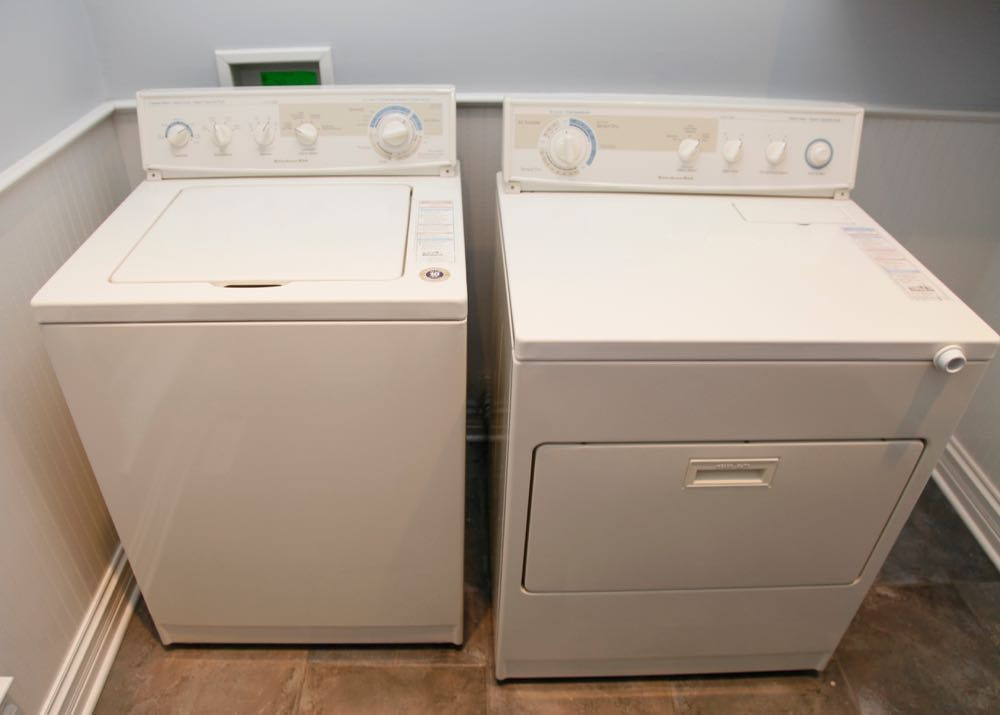 KitchenAid Quiet Care Washer And Dryer ...