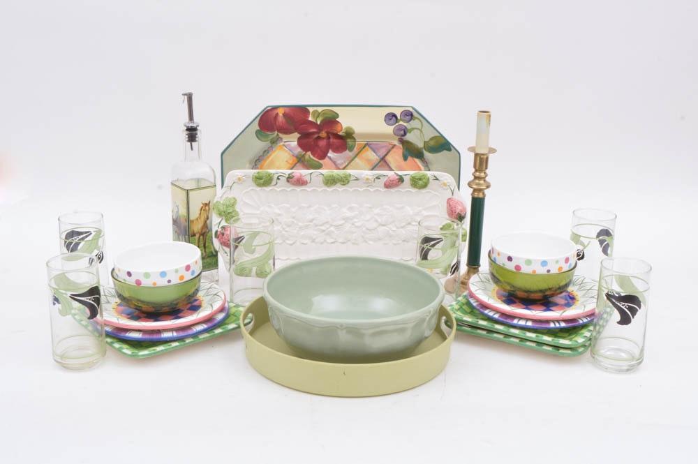 Kitchen Decoration Things: Green Tone Kitchen Decor : EBTH