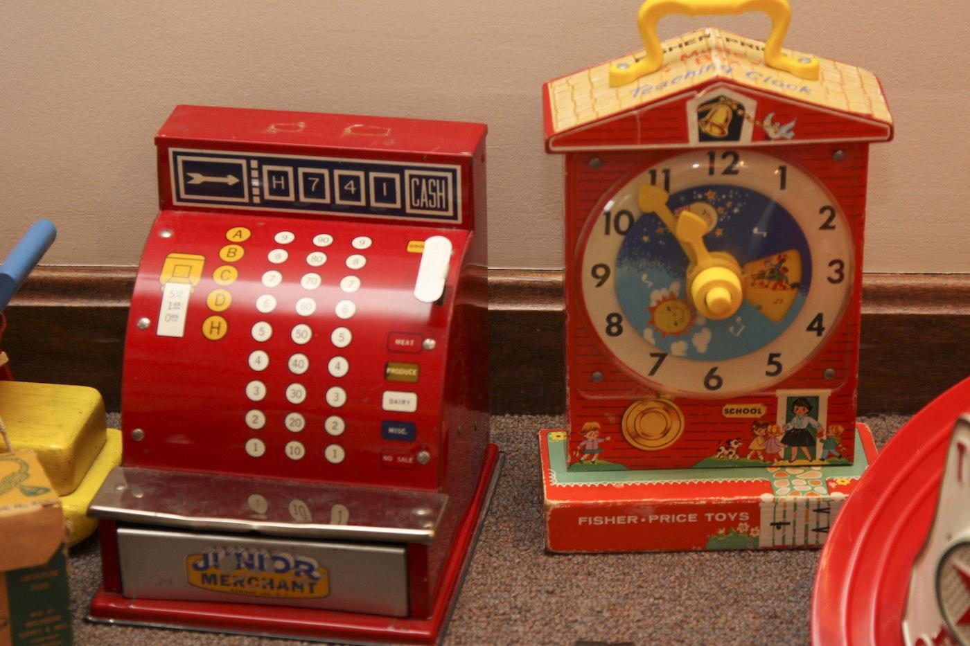 Seven Vintage Children's Toys Circa 1950s and 1960s : EBTH