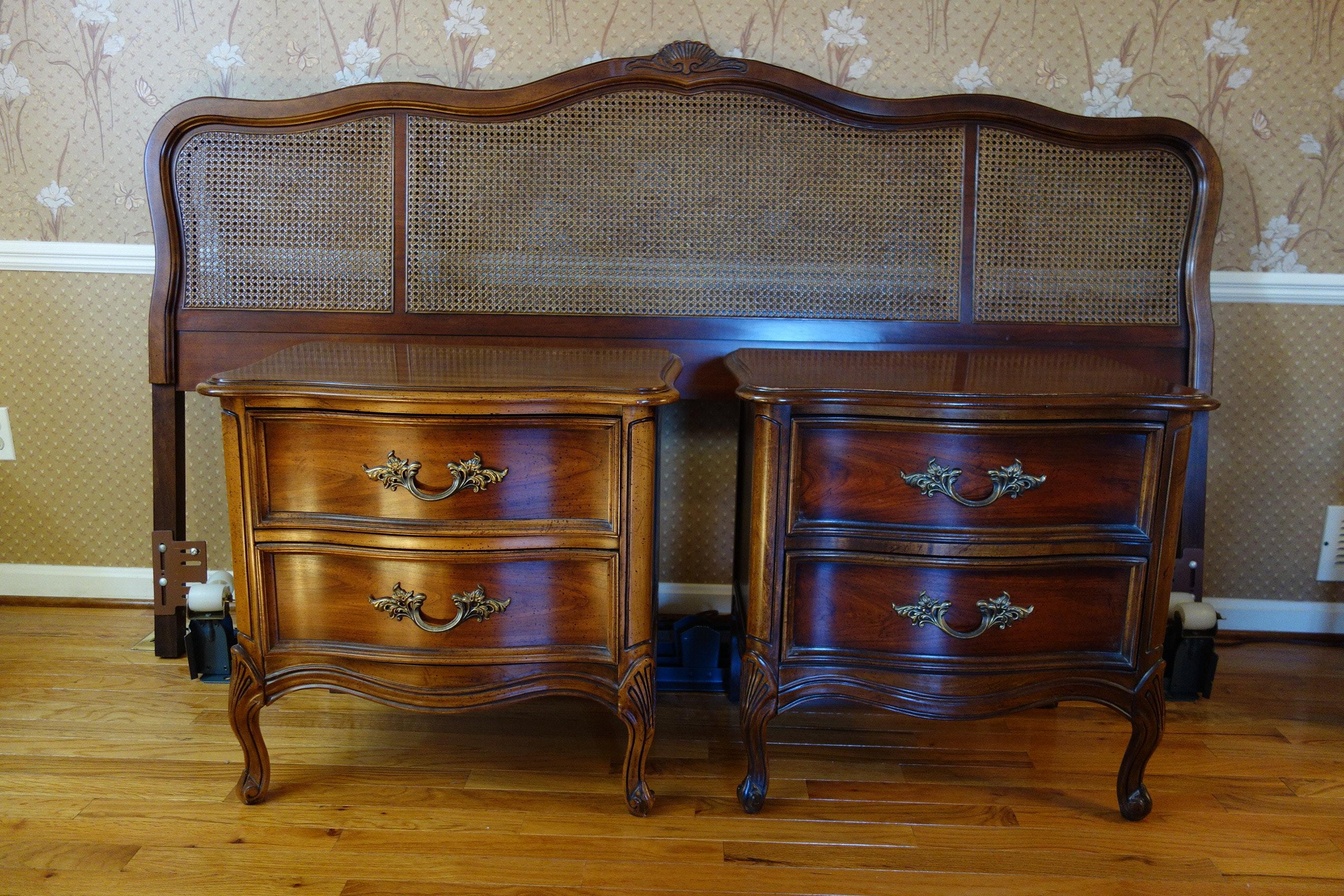 vintage dixie furniture provincial bedroom set 7