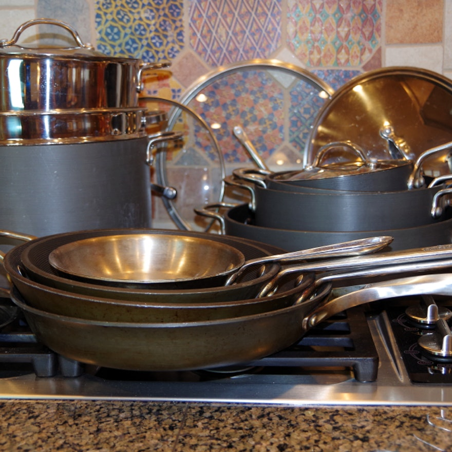 Commercial Circulon Calphalon And All Clad Pots And Pans