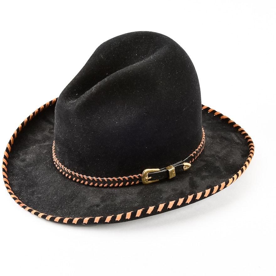 Custom-Made Felt Cowboy Hat by Rand s Custom Hatters   EBTH c98b271a9ec