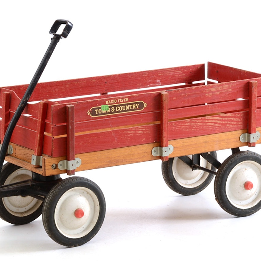 Vintage Town And Country Quot Radio Flyer Quot Wagon Ebth