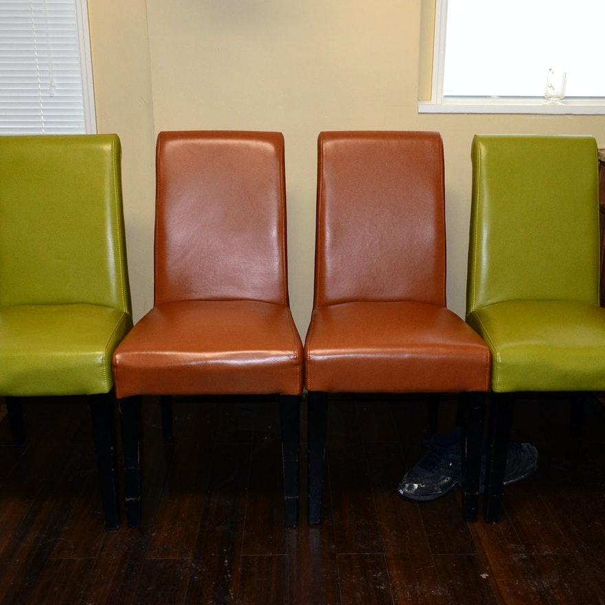 Incredible Set Of Four Grandin Road Valencia Chairs Evergreenethics Interior Chair Design Evergreenethicsorg