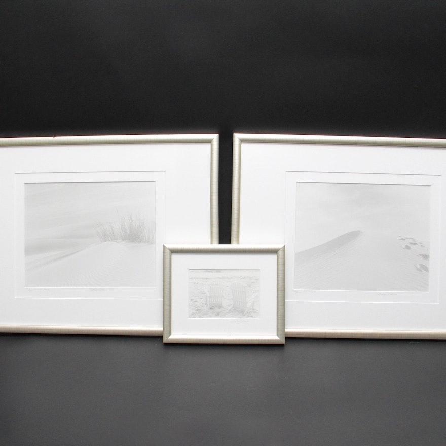 Set of Three Marilyn Littman Framed Photographs : EBTH
