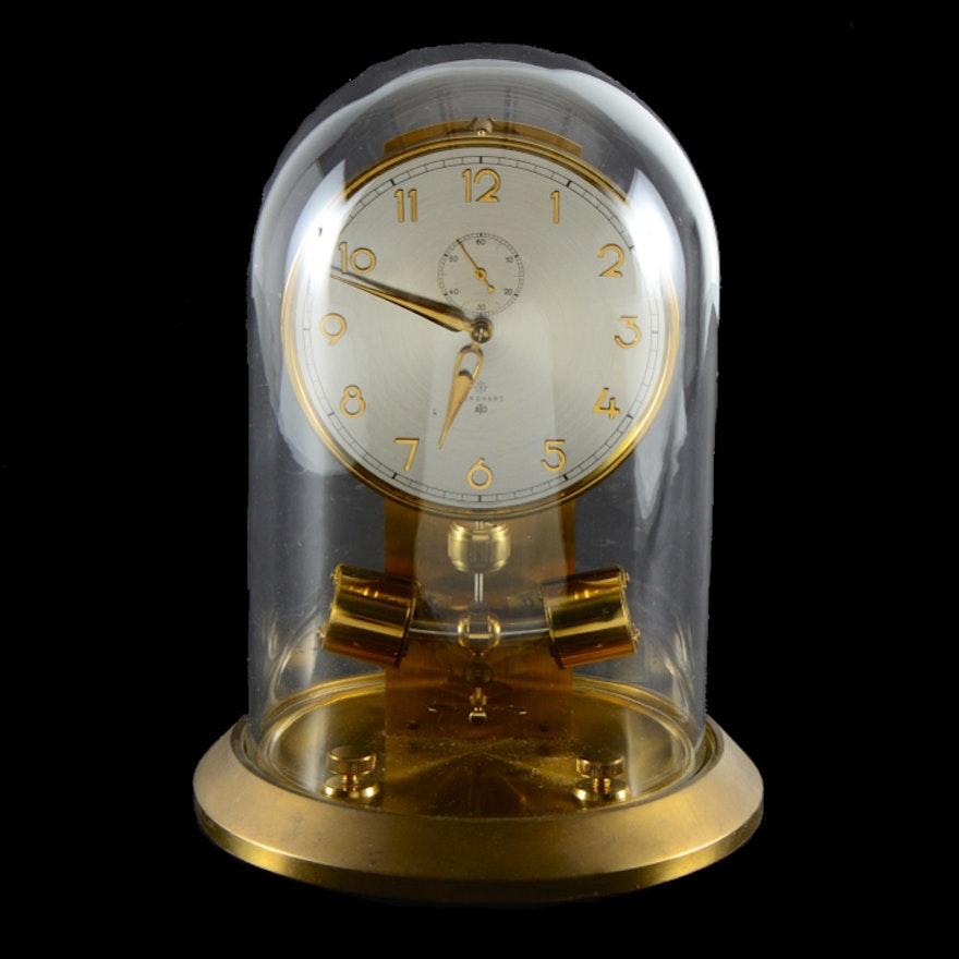 Junghans ATO Atmos Clock and Glass Dome | EBTH