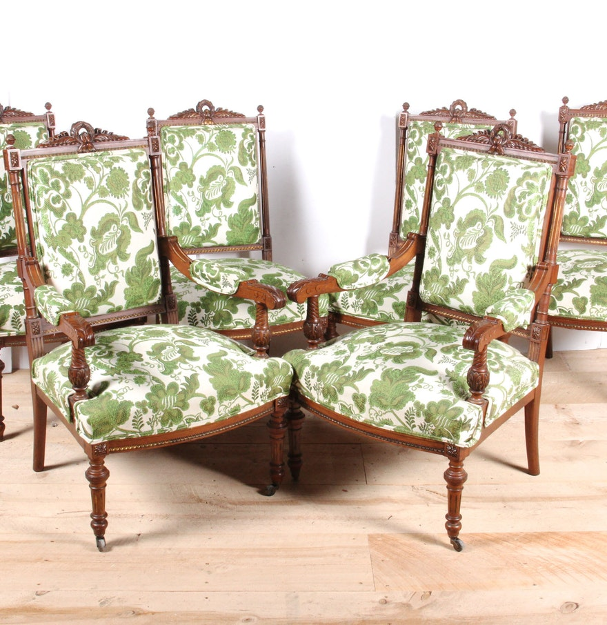 Set of Vintage Louis XVI Style Dining Chairs : EBTH