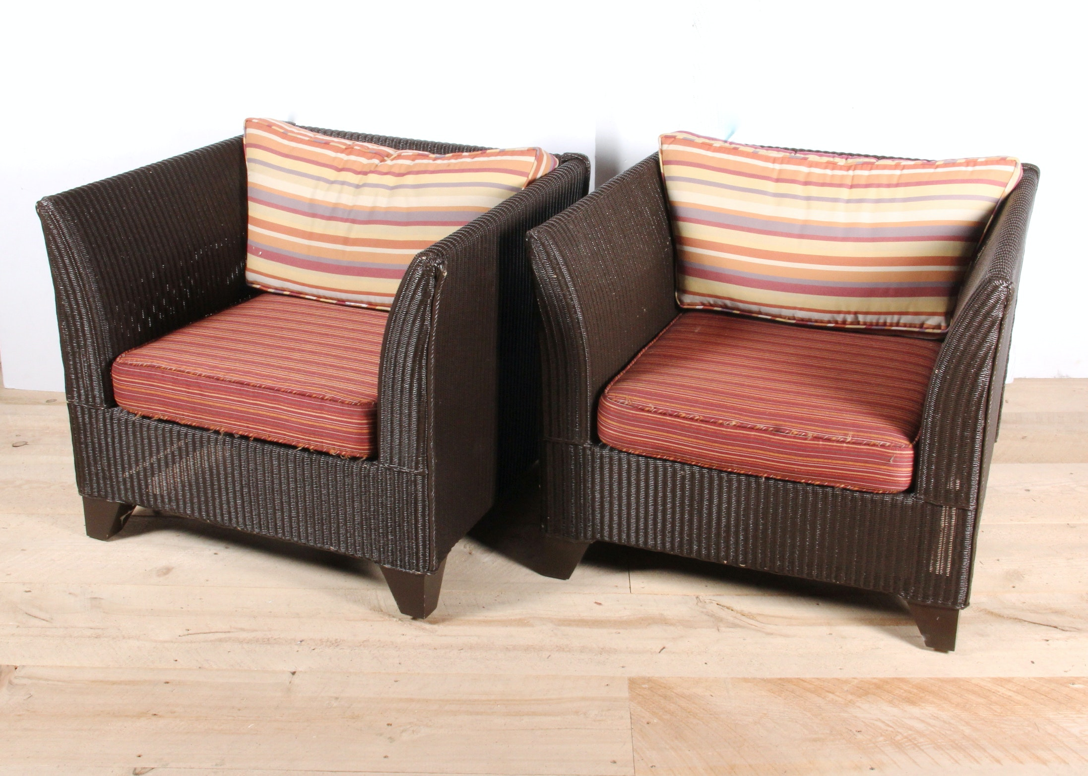 Pair Of Dedon Outdoor Patio Chairs ...