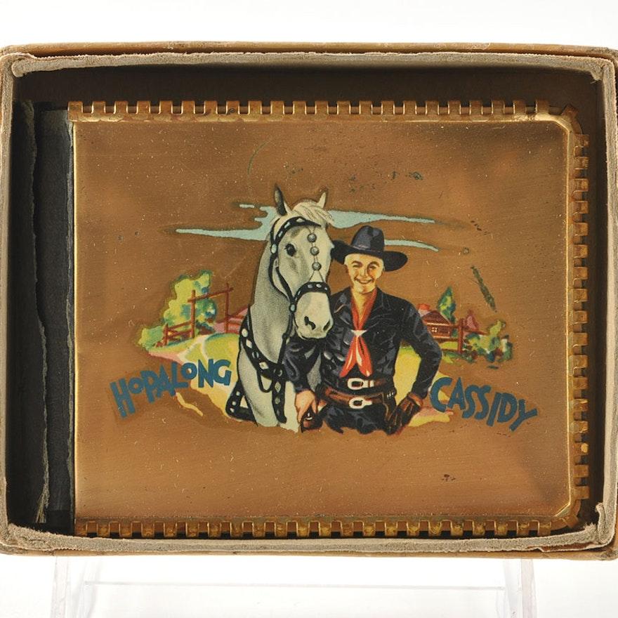 Official Hopalong Cassidy Wallet With Original Box Ebth
