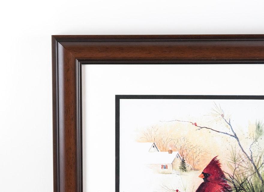 Pair Of Pat Richter Framed Prints Ebth