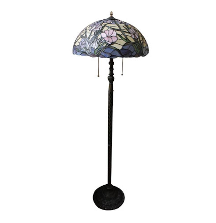 Tiffany Style Floor Lamp Ebth