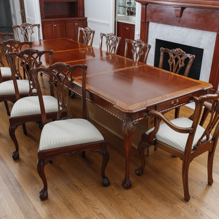 Mahogany Dining Table by Link-Taylor