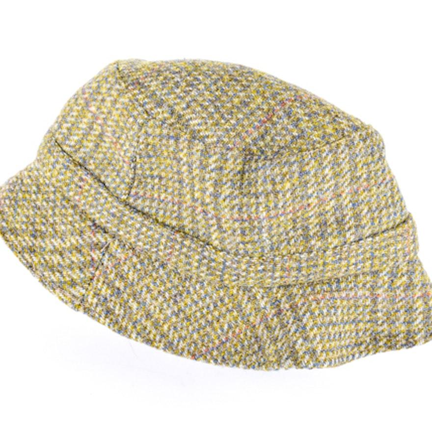 51fe0f99 Vintage Men's Barbour Brand Wool Tweed Bucket Hat : EBTH