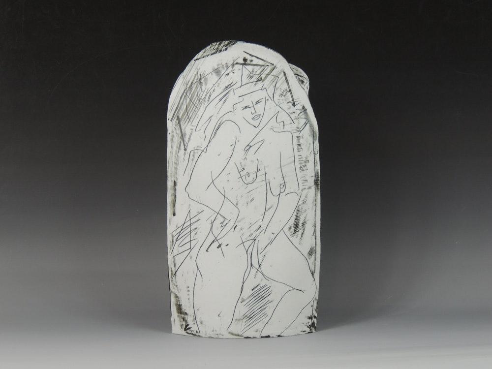 Finish Line Auto Sales >> Signed Danish Porcelain Art Vase : EBTH
