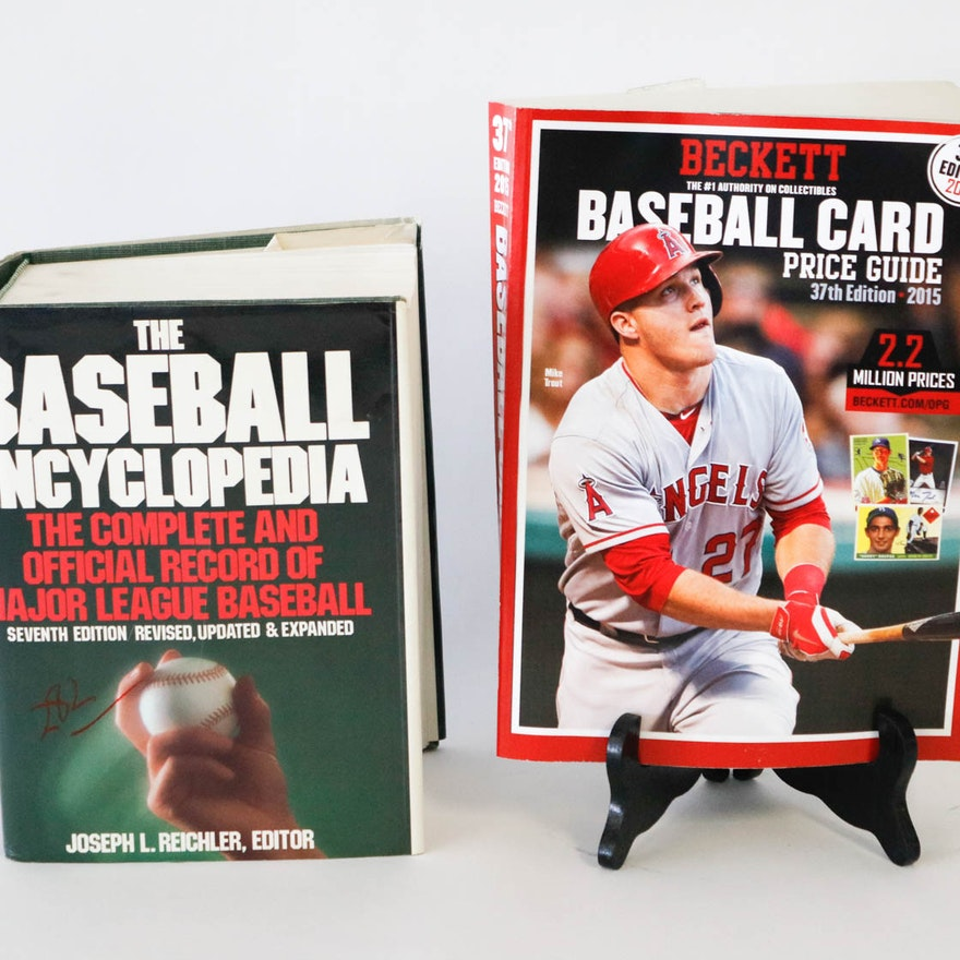 The Baseball Encyclopedia And 2015 Baseball Card Price Guide