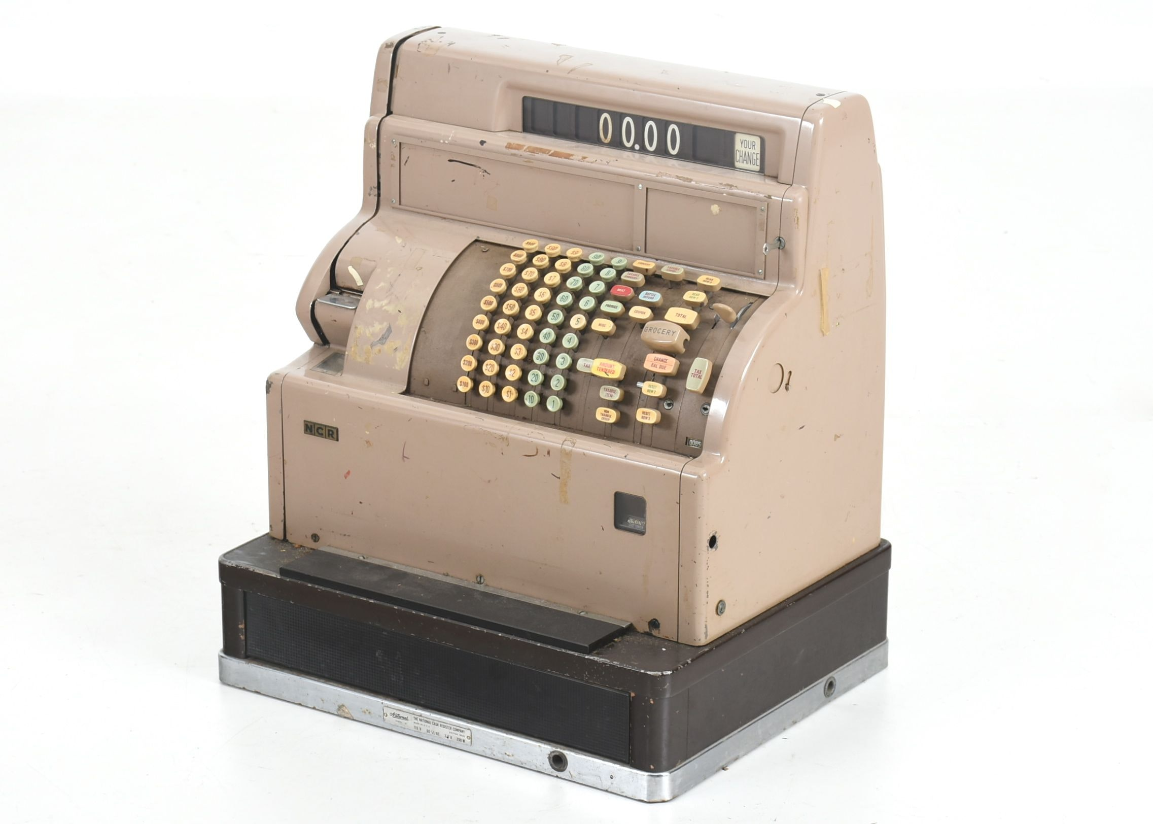 Vintage Ncr Cash Register Ebth