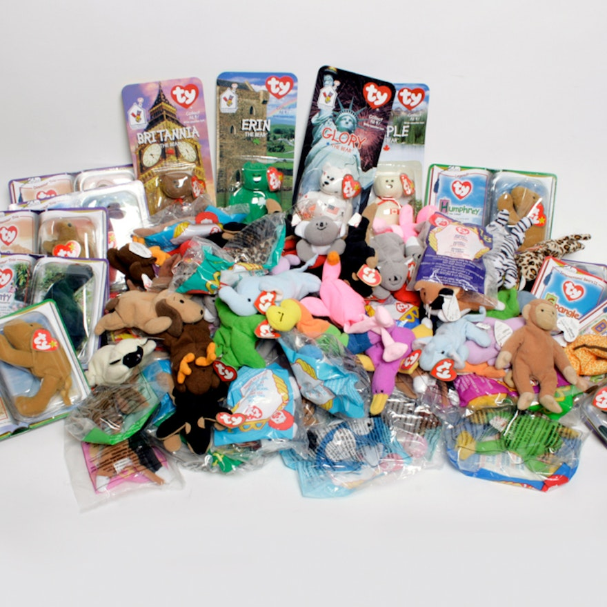 McDonald s Ty Beanie Babies Large Collection   EBTH 179448446deb