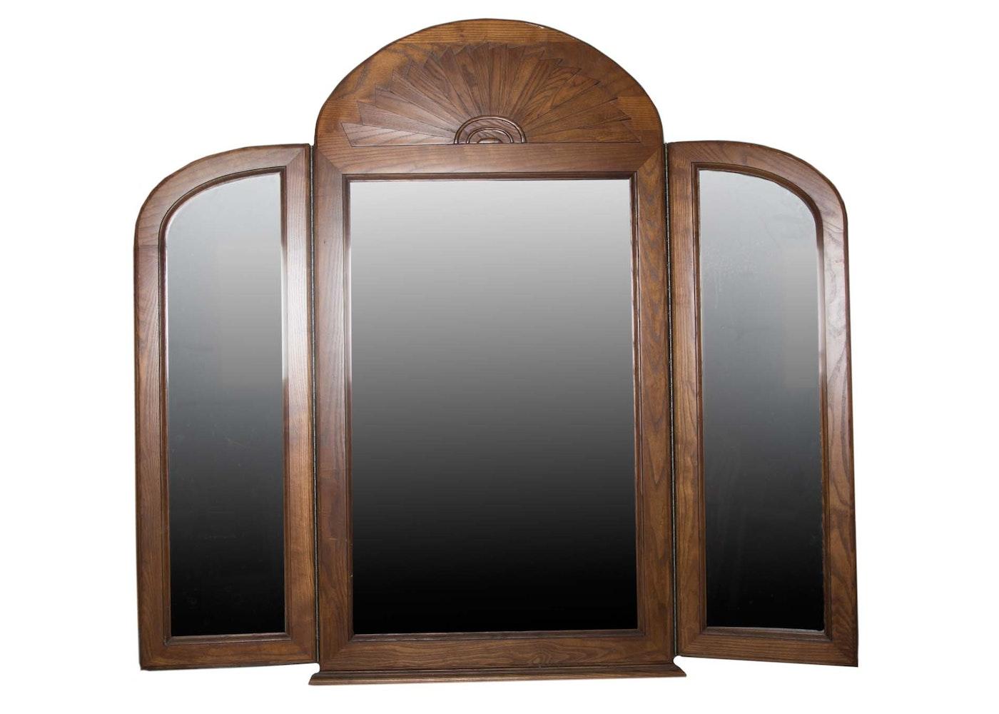 Graebel Three Way Vanity Mirror | EBTH