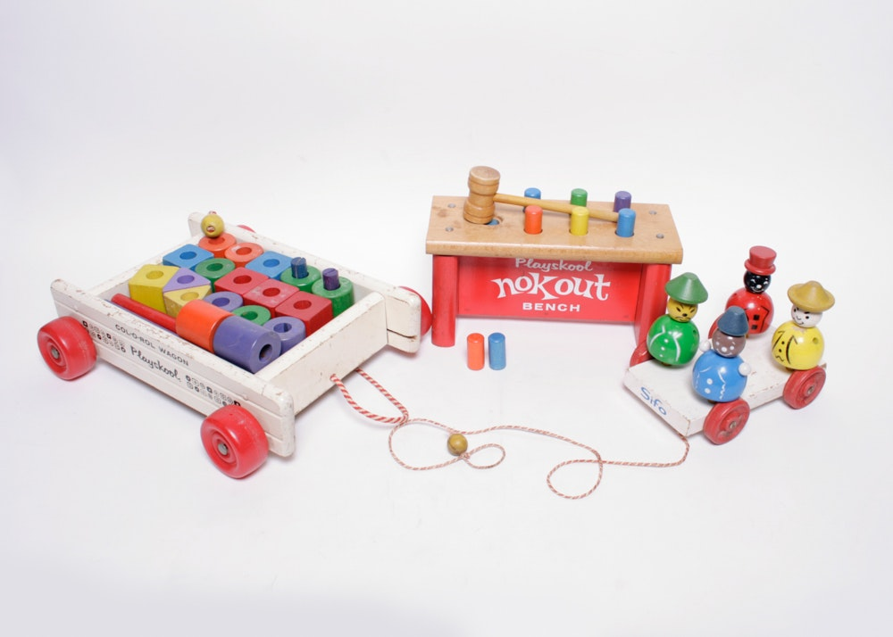 Vintage Wood Toys 6