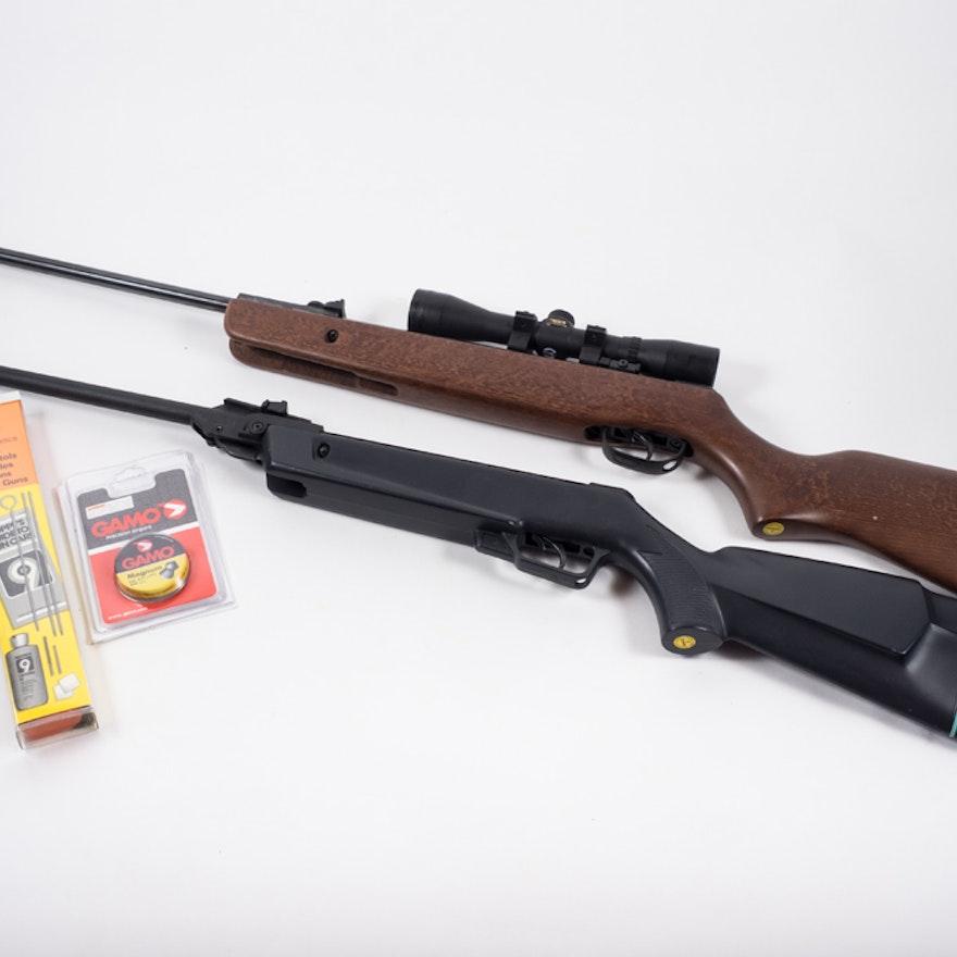 Pellet Gun Hunter Rifle with Scope
