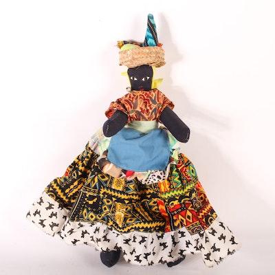 Vintage Ethnic Cloth Doll