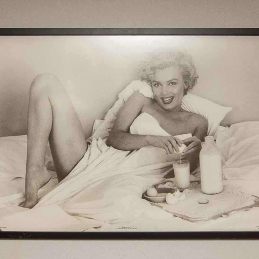 Frame Marilyn Monroe Poster : EBTH